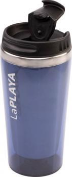 LaPLAYA Thermo Trinkflasche, MERCURY 0,4 l, blau