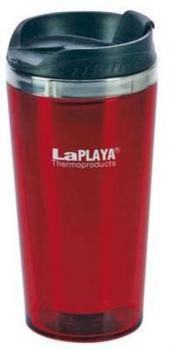 LaPLAYA Thermo Trinkflasche, MERCURY 0,4 l, rot