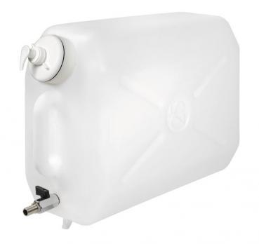 Wasserkanister mit Metallhahn und Seifenspender - 25 l