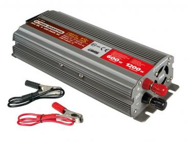Spannungswandler 600 W, 24V DC auf 220V AC